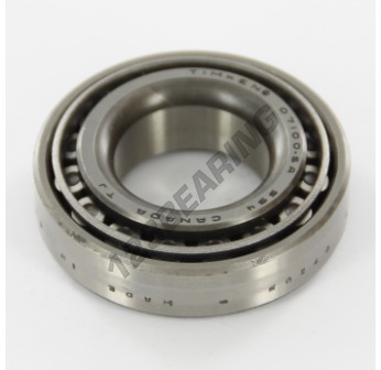 07100SA-07205-TIMKEN - 25.4x51.99x15.01 mm
