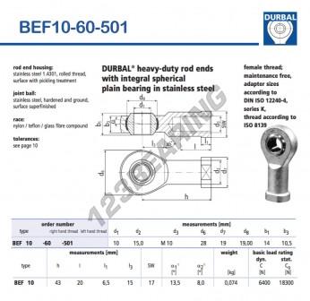 BEF10-60-501-DURBAL