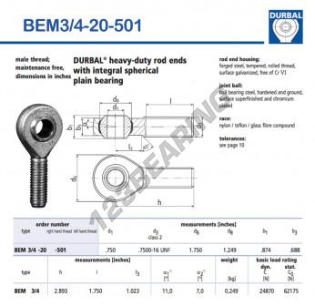 BEM3-4-20-501-DURBAL
