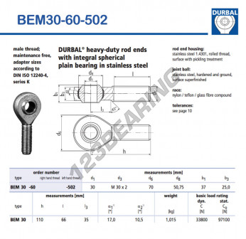 BEM30-60-502-DURBAL