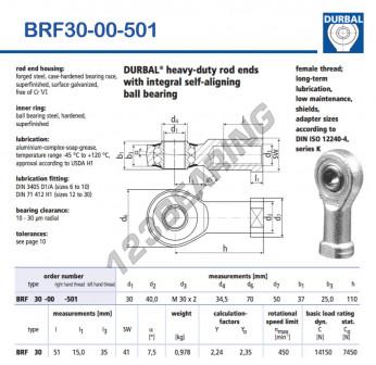 BRF30-00-501-DURBAL