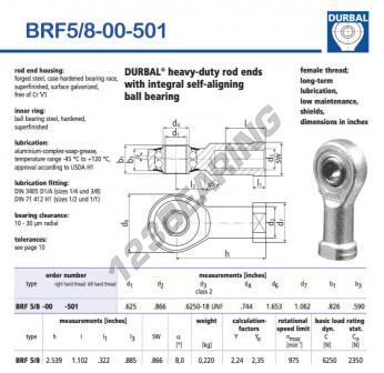BRF5-8-00-501-DURBAL - 15.88x41.99x20.98 mm
