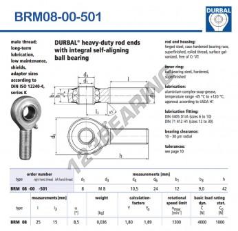 BRM08-00-501-DURBAL
