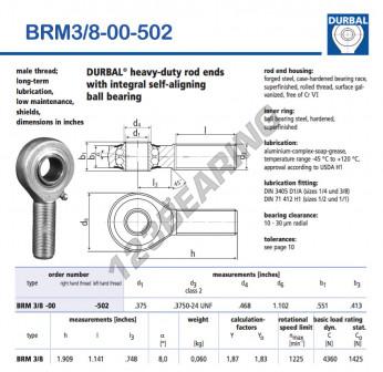 BRM3-8-00-502-DURBAL