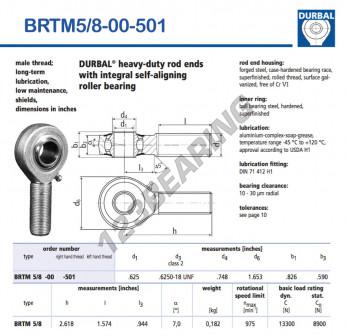 BRTM5-8-00-501-DURBAL - 15.88x41.99x20.98 mm