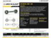 Gelenköpfe SI - DB-SA-074-DUNLOP