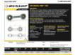 Gelenköpfe SI - DB-SA-157-DUNLOP