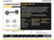 Gelenköpfe SI - DB-SA-158-DUNLOP