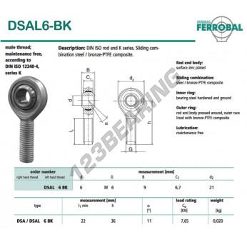 DSAL6-BK-DURBAL