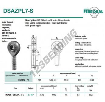 DSAZPL7-S-DURBAL