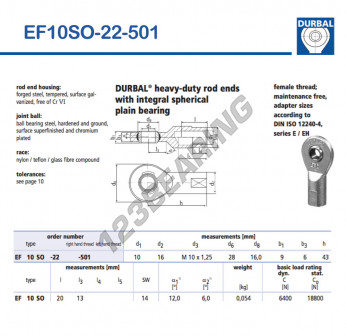 EF10SO-22-501-DURBAL