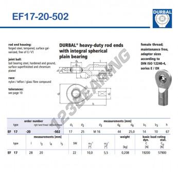 EF17-20-502-DURBAL