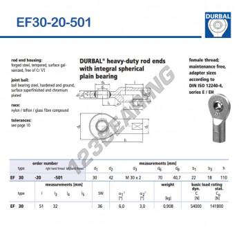 EF30-20-501-DURBAL