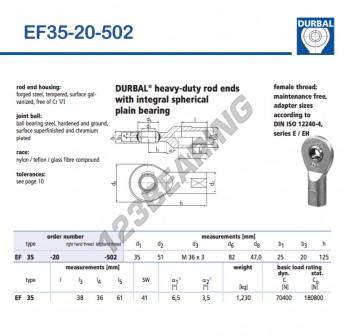 EF35-20-502-DURBAL