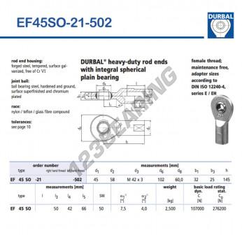 EF45SO-21-502-DURBAL