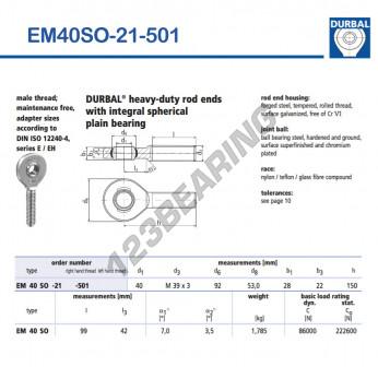 EM40SO-21-501-DURBAL
