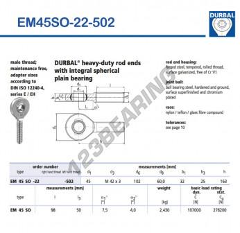 EM45SO-22-502-DURBAL