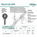 GAL30-UK-2RS-DURBAL