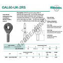 DGAL60-UK-2RS-DURBAL