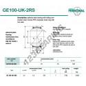 DGE100-UK-2RS-DURBAL