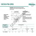 DGE30-FW-2RS-DURBAL