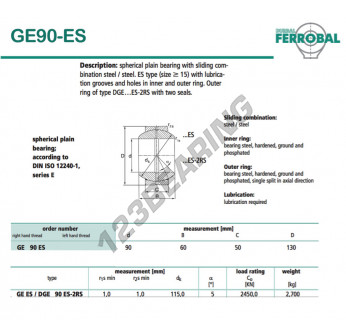DGE90-ES-DURBAL