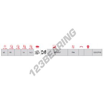 40102263-CORTECO - 60x90x16.3 mm