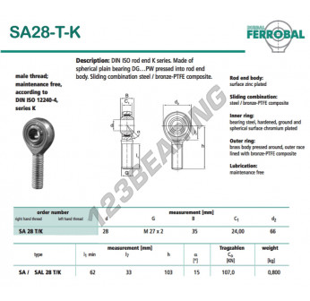 SA28-T-K-DURBAL