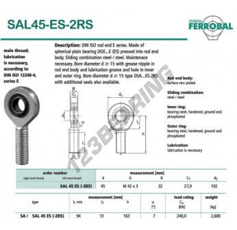 DSAL45-ES-2RS-DURBAL