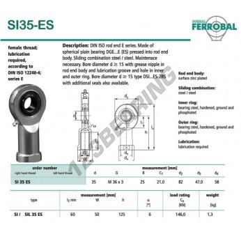DSI35-ES-DURBAL - 35x82x25 mm