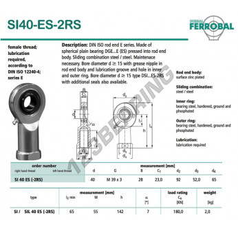 SI40-ES-2RS-DURBAL
