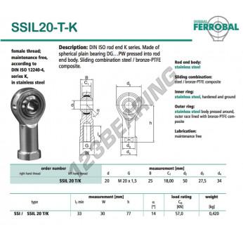 SSIL20-T-K-DURBAL